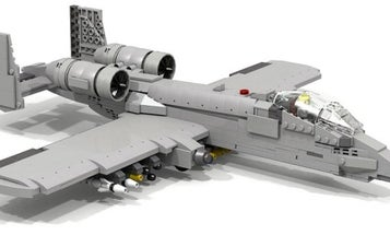 This Is How You Make An A-10 Warthog Out Of Legos