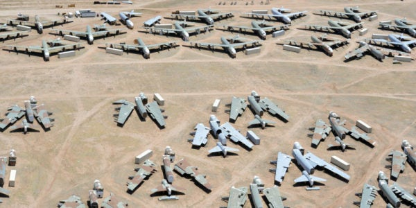 The Air Force Needs Its Old Planes To Last A Lot Longer