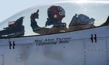 Audio Proves Pilot Heroically Avoided Houses Amid Thunderbirds Crash