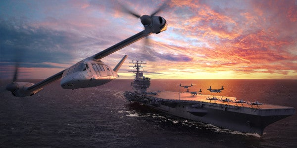 Marines' Future Helicopter Will Be Optionally Manned