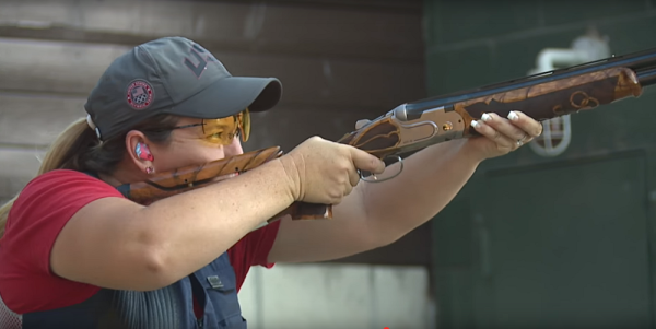This Olympian Just Made History, And She Did It With A Shotgun