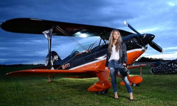 Badass Female Pilots Team Up To Take On Cancer