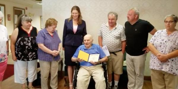 95-Year-Old World War II Vet Finally Graduates High School