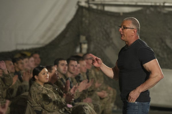 Even Celebrity Chef Robert Irvine Can't Make A Gourmet Meal From An MRE