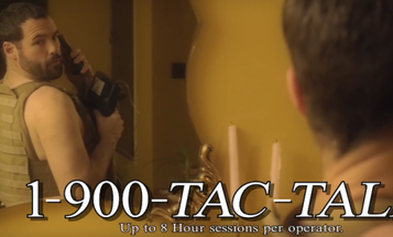 Are You A Lonely Tactical Dude? There's A Hotline For You