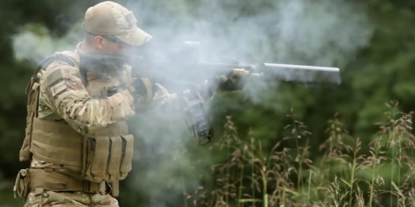 This Semi-Auto Tactical Shotgun Is Basically A 12-Gauge Tommy Gun