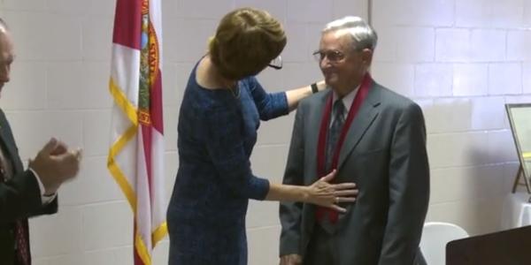 Korean War Veteran Receives Purple Heart 66 Years After Injury