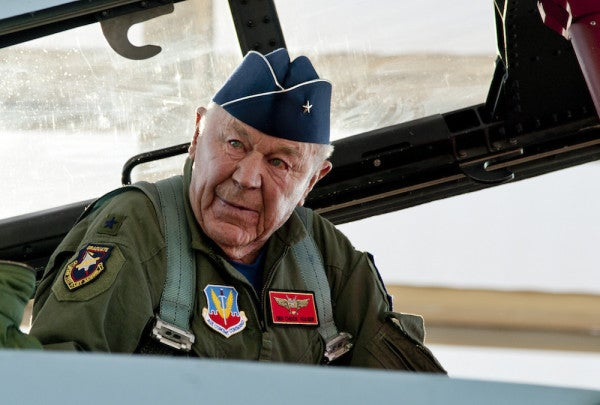 The 10 Greatest Tweets From 93-Year-Old Airman Chuck Yeager