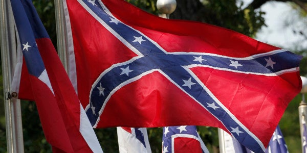 VA Blocks Holiday Display Of Confederate Flags On Cemetery Flagpoles