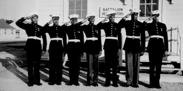 Families Of Original Montford Point Marines Honored With Congressional Gold Medals