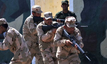 US Troops In Iraq Are Training Iraqi Soldiers To Become Rangers