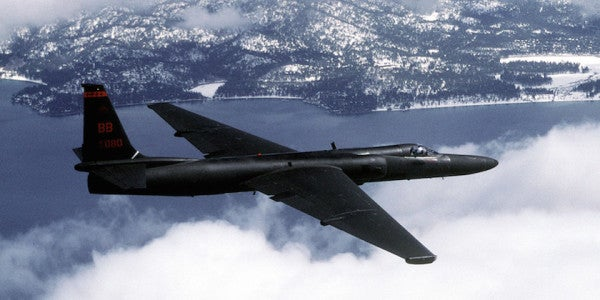 1,000th Pilot Solos U-2 'Dragon Lady' Spy Plane
