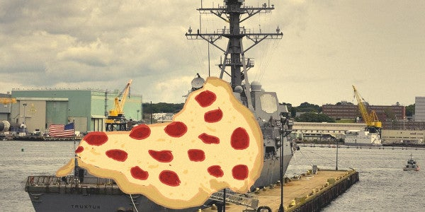 Why Locals Bought A Navy Destroyer 920 Slices Of Pizza