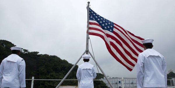Sailor In Trouble After Filming Herself Refusing To Stand For Colors