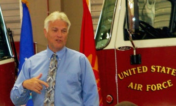 Air Force Chief Of Fire Service Accused Of Stealing From Charities