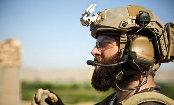One Marine's Campaign To Grow A Beard Is Gaining Momentum