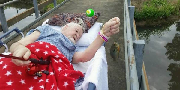 Vietnam Veteran Gets His Dying Wish: To Go Fishing One Last Time