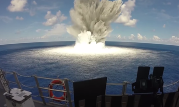Watch The Navy Drop Earthquake-Sized Bombs Off The Florida Coast