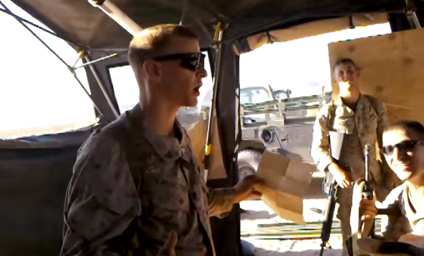 Marine NCO Delivers Most 'Moto' Speech Of All Time