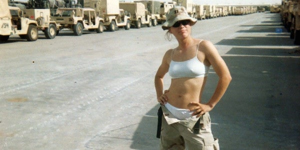 Overpaid, Oversexed And Over The Military: A Review Of 'War Virgin'