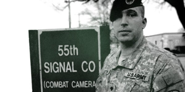 UNSUNG HEROES: The Most Decorated Combat Cameraman Of The War On Terror