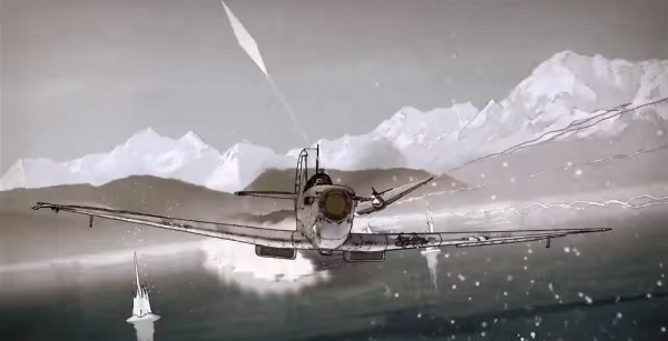 This Insane Animated Dogfight Is A Total Mindf*ck