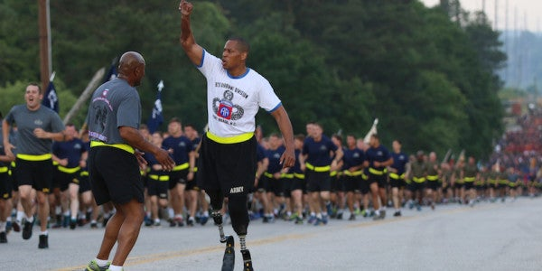Army Ranger, Double Amputee Describes How He'll Never Quit