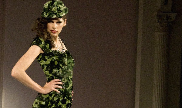 This Fashion Magazine Thinks Models Wear Camo Better Than Soldiers