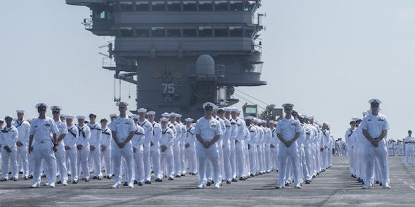 The Navy Is Doing Away With Traditional Ratings For 'Seamen'