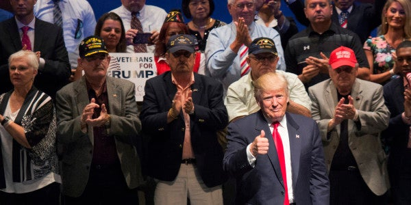 Trump: Soldiers With PTSD Aren't 'Strong'
