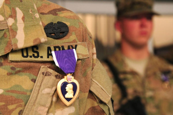 Should It Be Illegal To Buy And Sell Purple Hearts? One Congressman Thinks So