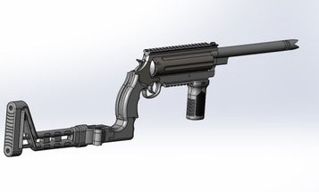 This Ultimate Doomsday Rifle Shoots 21 Different Calibers Of Ammunition