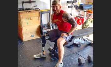 People Doubted This Army Amputee In A Bodybuilding Competition, Until He Took His Shirt Off