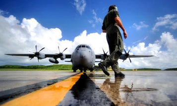 The Air Force's Hurricane Hunters Fly Into Storms So You Don't Have To