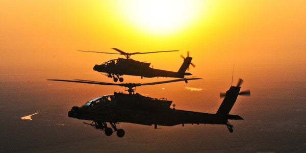 The US Is Unleashing Apaches On ISIS In The Fight For Mosul