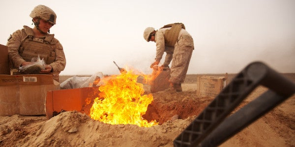DoD Isn't Doing Enough To Understand Burn Pit Exposure Effects, Report Says
