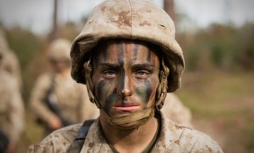 She was born in a Russian prison and became a trailblazing infantry Marine