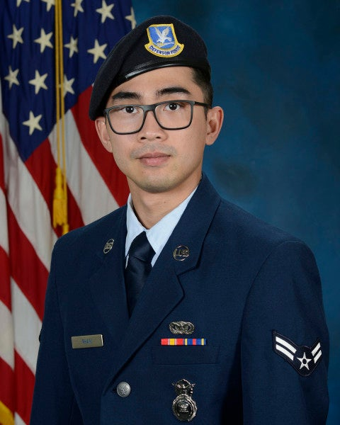 Airman killed in vehicle accident in Kuwait remembered as 'exceptionally noble servant to the nation'
