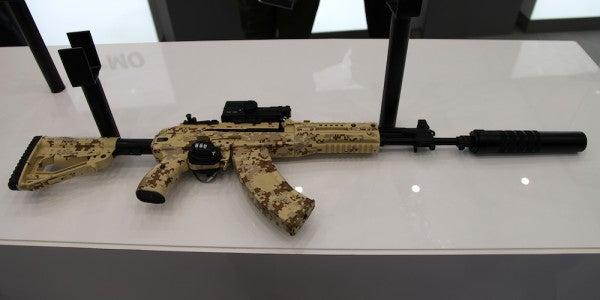 The Russian Military's New Kalashnikov Assault Rifle Just Passed Its Field Tests
