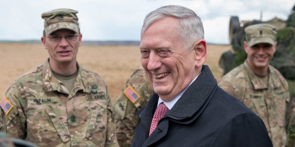 Watch Mattis Give US Troops In The Middle East The Ultimate Pep Talk