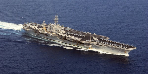 It's Official: The Former USS Kitty Hawk Will Be Dismantled