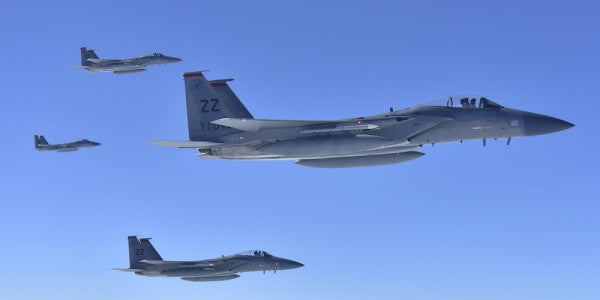 The Air Force has averaged one aircraft mishap every week since the beginning of May