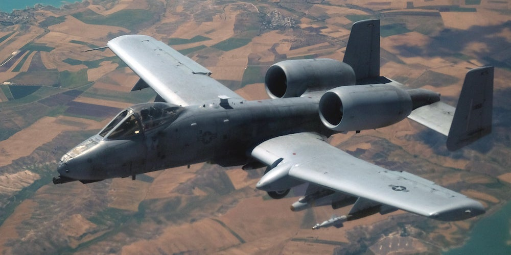 The A-10 Thunderbolt II in action