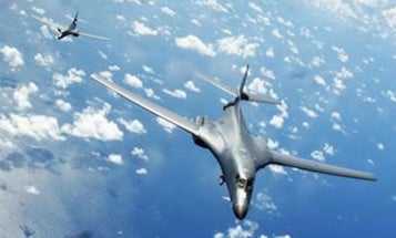 US Bombers Challenge China In Disputed Waters