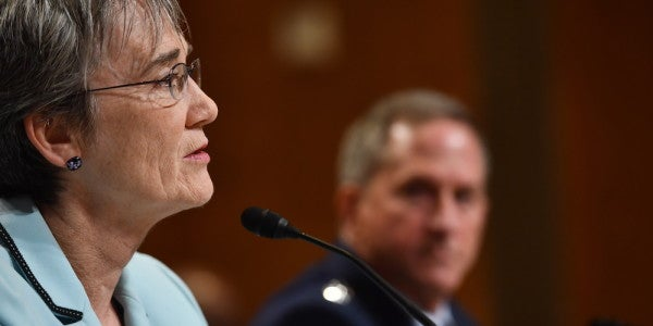 Air Force Secretary Heather Wilson On Branch Size, BRAC, And Security Threats