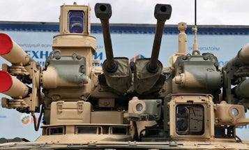 Russia Is Now Sending Its New 'Terminator' Tanks To Syria