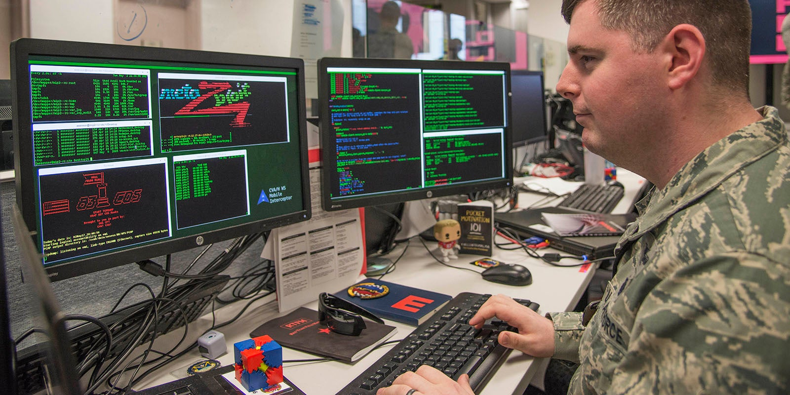 The military keeps growing their cybersecurity program. Here's how you can get involved