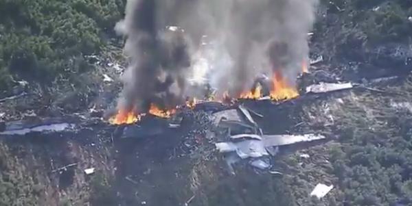Marine Corps KC-130 Crash Kills At Least 16 In Mississippi