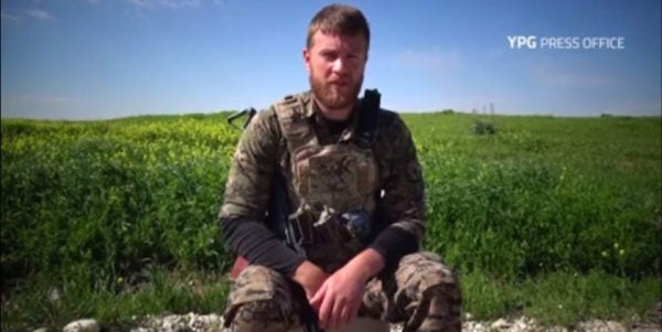 US Army Veteran Killed Fighting ISIS With Kurdish Militants In Syria