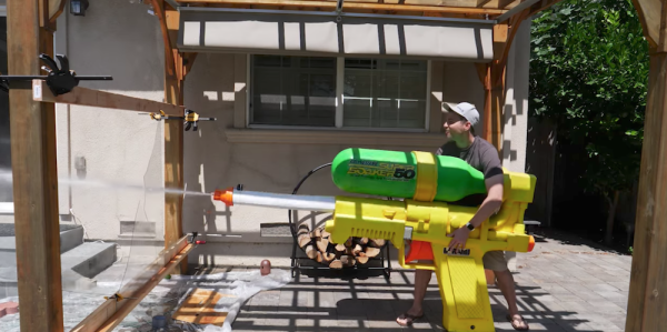 This NASA-Engineered Super Soaker Could Probably Kill You